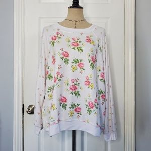 Wildfox Floral Jumper Sweater NWOT
